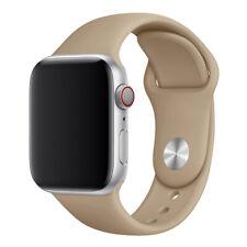 Reloj pulsera Deportes de silicona correa para Apple iwatch 6/5/4/3/2/1 38/42/40/44mm