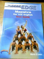 Maestro for VCE English: Study Guide by Marie Lukic (Paperback, 2007)