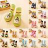 Cute Baby Boys Girls Anti-slip Shoes Boots Slipper Socks Newborn Shoes Socks
