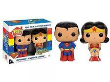 DC - POP! HOME: SUPERMAN & WONDER WOMAN SALT N' PEPPER Funko  Toy