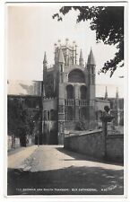 The Octagon & South Transept, Ely Cathedral RP PPC, Unposted, by Walter Scott