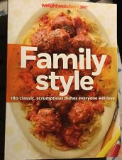 2013 Weight Watchers 360 Family Style 180 Classic Recipes Cookbook