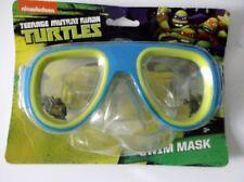 Nickelodeon Teenage Mutant Ninja Swim Goggles Blue/Green  for Beach or Pool