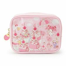 SANRIO MY MELODY STRAWBERRY PARTY SERIES MAKE UP COSMETIC BAG 257281N