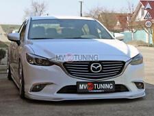 NEW Front Splitter(Pad, Skirt) №3 under Bumper for Mazda 6 / Atenza GJ 2012-2018