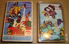 GOLDRAKE/GRENDIZER PLAY CARDS SET ORIGINALI GIAPPONESI  ANNI 70/80 TOEI (MAZINGA