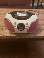 Hello Kitty KT2026MBY Portable Stereo CD Boombox with AM/FM Radio Speaker Audio