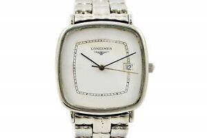 Vintage Longines Classic Quartz Stainless Steel Midsize Watch 1026