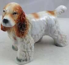 COCKER SPANIEL DOG VINTAGE CERAMIC FIGURE