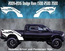 2009-2016 Dodge Ram Vinyl Decal Graphic Rebel Truck Bed Stripes 1500 2500 3500