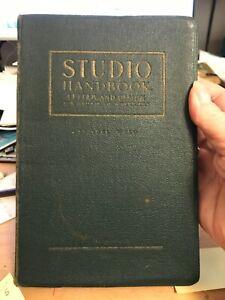 Studio Handbook - Letter and Design -- Samuel Welo - 1927
