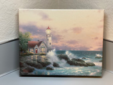 Thomas Kinkade Beacon Of Hope Lighthouse 8 x 10 Gallery Wrapped Canvas