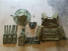 Airsoft Gear Lot - OD / Green, Rothco MOLLE Plate Carrier, Etc