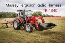 Massey Ferguson MF Radio Wire Harness CD In Dash Stereo 1600 1700 4700 4600 M