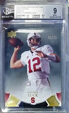 ANDREW LUCK RC XRC BGS MINT .5 from GEM 2011 2012 Exquisite Draft Picks #/99 SP