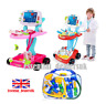 Kids Children Doctor Nurse Medical Trolley/Carrier Case Pretend Role Play set
