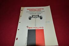 New Holland 234 Farm Wagon Running Gear Operator's Manual GDOH