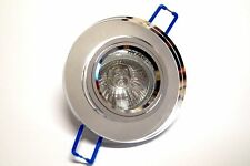 CROMPTON K9 Crystal Glass Mirror Downlight 12V 37W - Round Clear