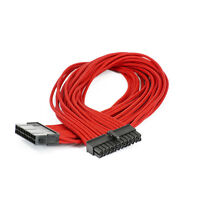 Phanteks 24 Pin M/B Extension Cable 500mm, Red