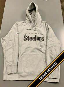 Nike Pittsburgh Steelers Team Issued Player Sideline Sweatshirt Hoodie