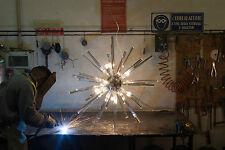 Murano Crystal Glass Sputnik Chandelier