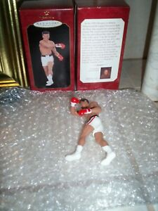 Muhammad Ali ornament with Ali Shoe Polish