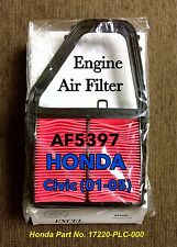 For 01-05 HONDA CIVIC Quality Engine Air Filter AF5397 Perfect Fit Guarantee