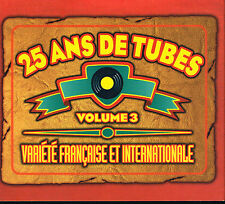 CD Album: 25 ans de tubes volume 3. polygram 2 cd. B1