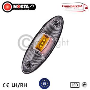 2 X LED SIDE MARKER LIGHT 12/24V POSITION LAMP FOR TRUCK, TRAILER OR TRANSPORTER