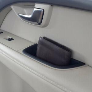 Front Door Handle Storage Box For Volvo XC70 V70 S80 Auto Interior Accessories