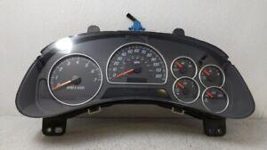 2002-2004 Gmc Envoy Speedometer Instrument Cluster Gauges 15096861 101474