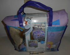 DISNEY FROZEN OLAF ADVENTURE TWIN BED SET REVERSIBLE COMFORTER BONUS TOTE