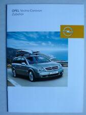 Prospekt Opel Vectra C Caravan Zubehör, 8.2003, 16 Seiten