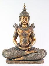 "Feng Shui 12"" Bronze Buddha Dhyani Mudra Home Decor Peace Statues"