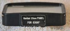 Vivitar 20 mm Panel für Blitzgerät 636AF Weitwinkel-Streuscheibe
