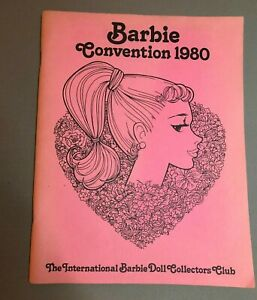 1980 National Barbie Convention Souvenir Book  Barbie con, Ruth Cronk Collection
