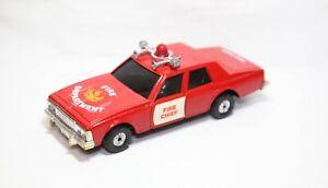Corgi Tronics Chevrolet Caprice Fire Department - Excellent Retro Original