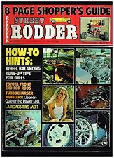 STREET RODDER DECEMBER 1973 CONTENTS IN SECOND PHOTO HOT ROD TECH TIPS HOW TO'S