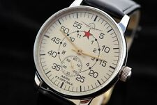 Pobeda Air reconnaissance military German WAR2 vs CCCP pilot's watch