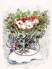 PAGAN WICCAN GREETING CARD - Quicken Tree - GODDESS Fairy Blank HEDINGHAM FAIR