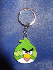BRAND NEW ** ANGRY BIRD KEYRING / KEYCHAIN ** GREEN, BLUE OR YELLOW