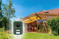 Ultraschall mit Solar & Akku Tierabwehr Marderschreck Katzenschreck Vertreiber