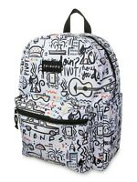 """Friends F.R.I.E.N.D.S Comic Printed 16"""" Backpack 90's TV Show Central Perk NWT"""