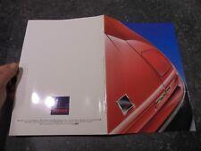 Ancien Catalogue Station de Peinture SAMES Meylan sur Lamborghini Ferrari Honda