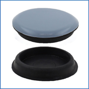 30mm Round PTFE Teflon Furniture Cup Glides Pad Recliner Sofa Chair Gliders