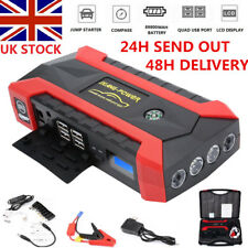 89800mAh 12V Car Jump Starter Emergency Pack Booster Charger Battery Power Bank