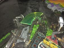 Clear Plastic for Williams Congo Pinball - Green with fluorescent edge