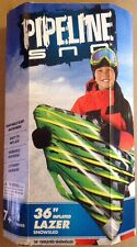 Pipeline Sno 36 Inch Inflated Lazer SnowSled Durable Easy to Inflate 7 Yrs+
