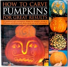 How to Carve Pumpkins for Great Results : 20 Traditional... Halloween craft book