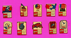 1992 OLYMPIC PIN EVENT PINS COCA COLA PINS LOT #4 BUY 1-2-3-ADD TO CART